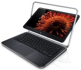 Dell XPS12 laptop ultrabook hybride
