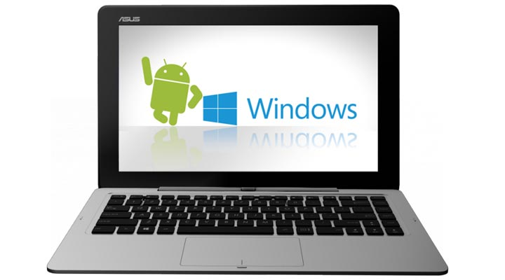 Asus Transformer Book Duet TD300 PC hybride Android Windows