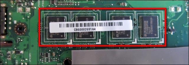 tutoriel changer RAM netbook Asus eeePC
