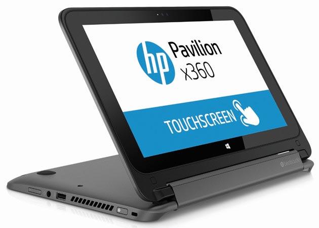 photo HP Pavilion x360 ordinateur portable hybride