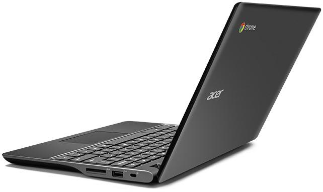 photo Chromebook Acer C720P