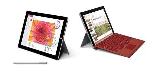 photo tablette hybride Microsoft Surface 3