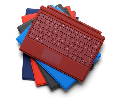 photo clavier TypeCover Microsoft Surface 3