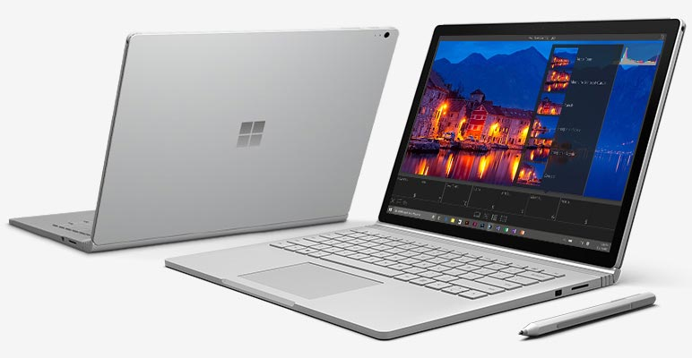 Microsoft Surface Book photo presentation ultrabook hybride