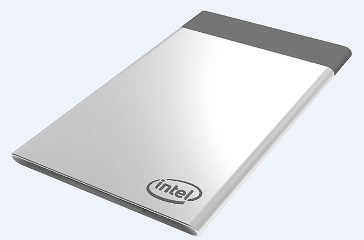 Mini ordinateur Intel Compute Card