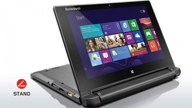 presentation test Lenovo Flex 10 stand hybride laptop