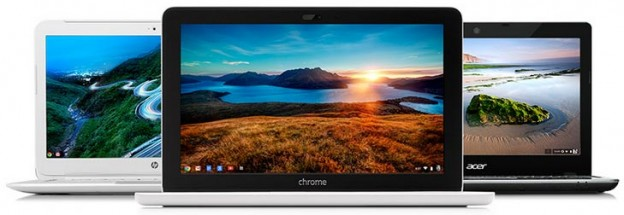 Google Chromebook gamme netbook ultrabook