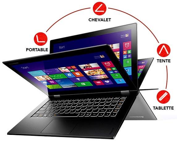 Présentation : Lenovo Yoga 2 Pro