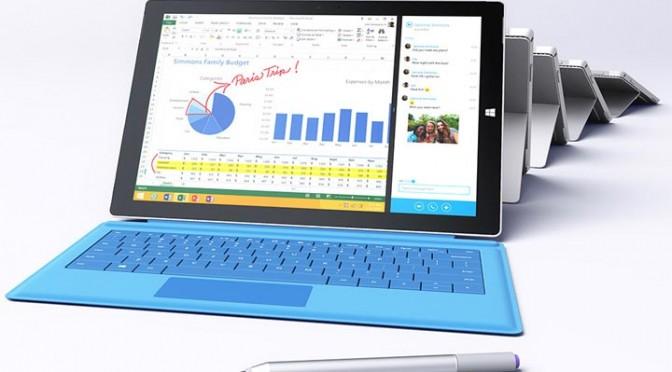 Présentation : Microsoft Surface Pro 3