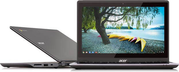 photo Chromebook Acer C720P