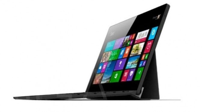 Dell XPS 12 Tablet : un air de Surface