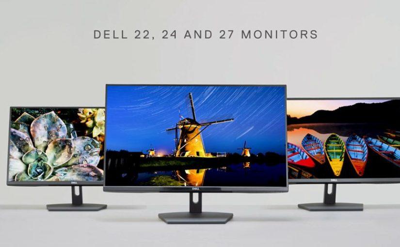 Ecran 24″ Dell SE2419HR et SE2719HR